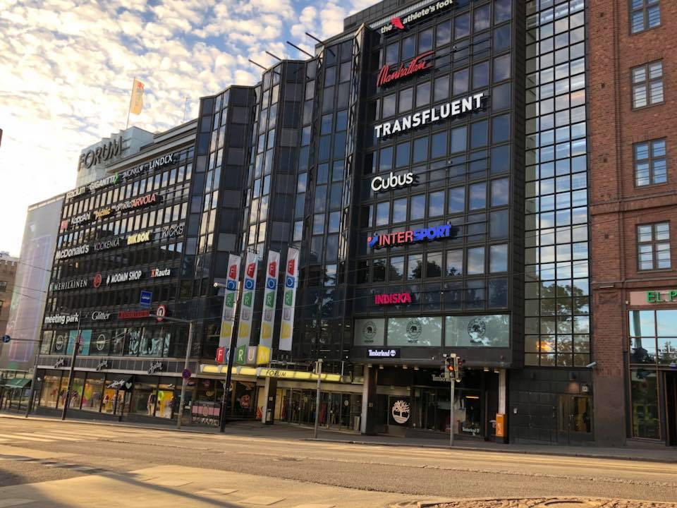 Transfluent HQ in Forum, Helsinki